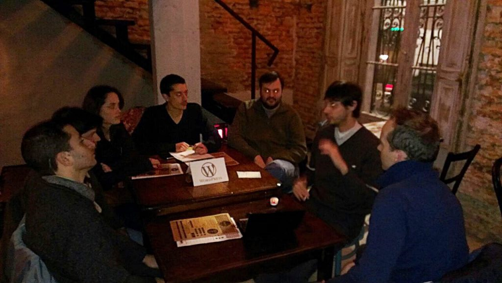Primer MeetUp WordPress Rosario