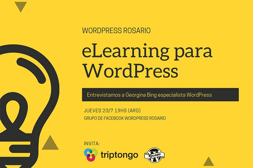 MeetUp: eLearning con WordPress