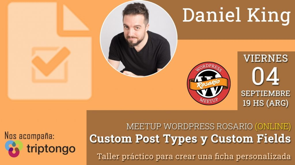 Custom Post Types para WordPress por Daniel King