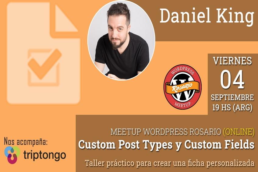 MeetUp: Custom Post Type