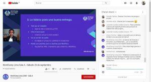 WordCamp Lima 2020 - Entrega