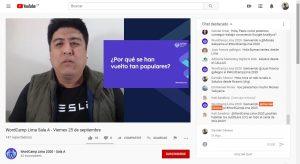 WordCamp Lima 2020 - Escuelas online